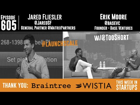 Jared Fliesler (Matrix) & Erik Moore (BaseVC) w/rapper Too Short: marketing, messaging & hustle