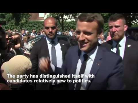 Macron's party projected to win big in French parliamentary elections