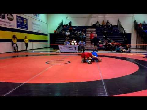 2014 Ontario Juvenile Championships: 49 kg Raeggan Bressette vs. Jessica Waltner