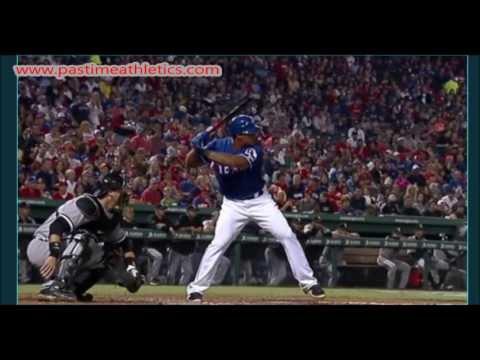 Adrian Beltre Slow Motion Home Run 10000fps Baseball Swing Hitting Mechanics Instruction Rangers MLB