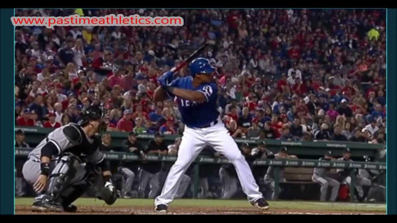 Adrian Beltre Slow Motion Home Run 10000fps Baseball Swing ...