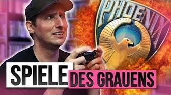 PHOENIX GAMES  - Die besten SCHLECHTESTEN Spiele aller ZEITEN | Raketenjansel