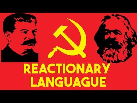 Reactionary Language