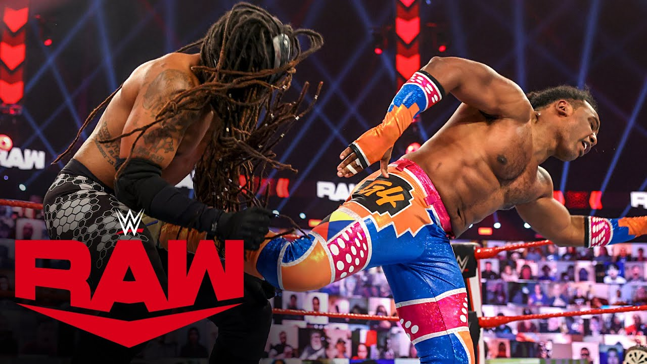 Xavier Woods vs. MACE: Raw, Jan. 18, 2021
