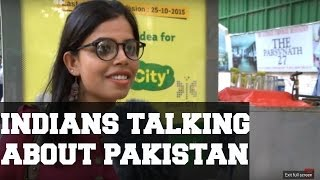 Indians on Pakistan.BBC Urdu
