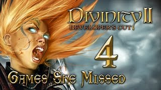 DIVINITY II - Ego Draconis #4 [Making Friends and Robbing Them] Games She Missed | Let's Play!