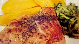 Ginger Garlic Salmon (restaurant Style)