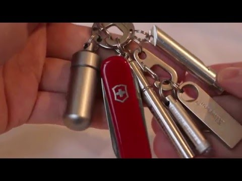 EDC keychain: Victorinox Classic + other Every Day Carry tools