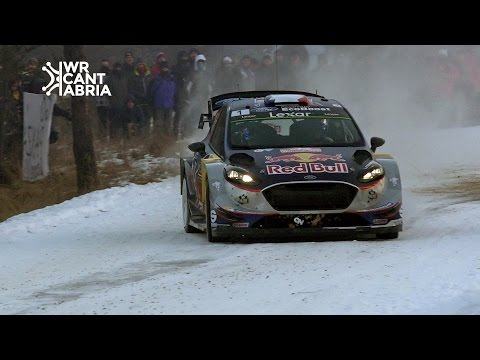 WRC Rally Montecarlo 2017 | Maximum attack & close calls