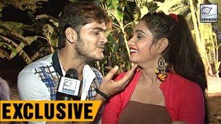 देखिये कल्लू और रीतू सिंह की मस्ती इंटरव्यू के दौरान exclusive arvind akela kallu