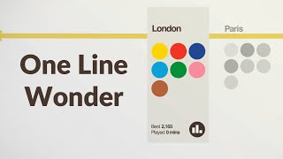Mini Metro One Line Wonder Challenge