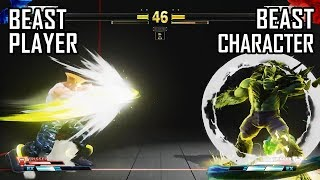 Street Fighter V AE Ranked Match.