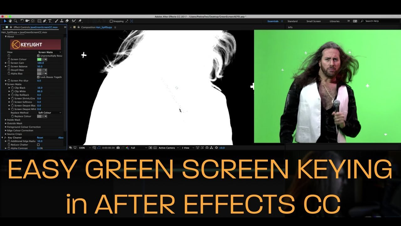 How to Shoot a Green Screen for Perfect Chroma Keying