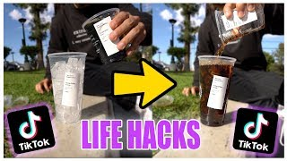 Download We TESTED Viral TikTok Life Hacks.... (this is what happened) Mp3 and Videos