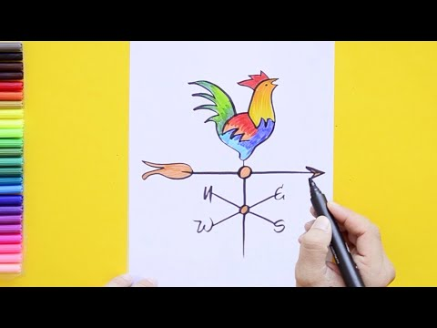 How To Draw A Weather Vane