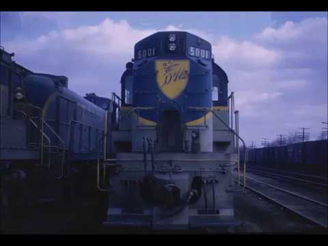 Delaware & Hudson Alco RS-11's/36's Slideshow with authentic Alco sound