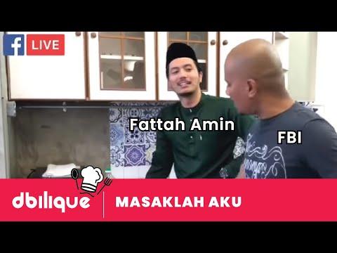 Fattah Amin masuk dapur #MasakLahAku   #FBILive #Highlight