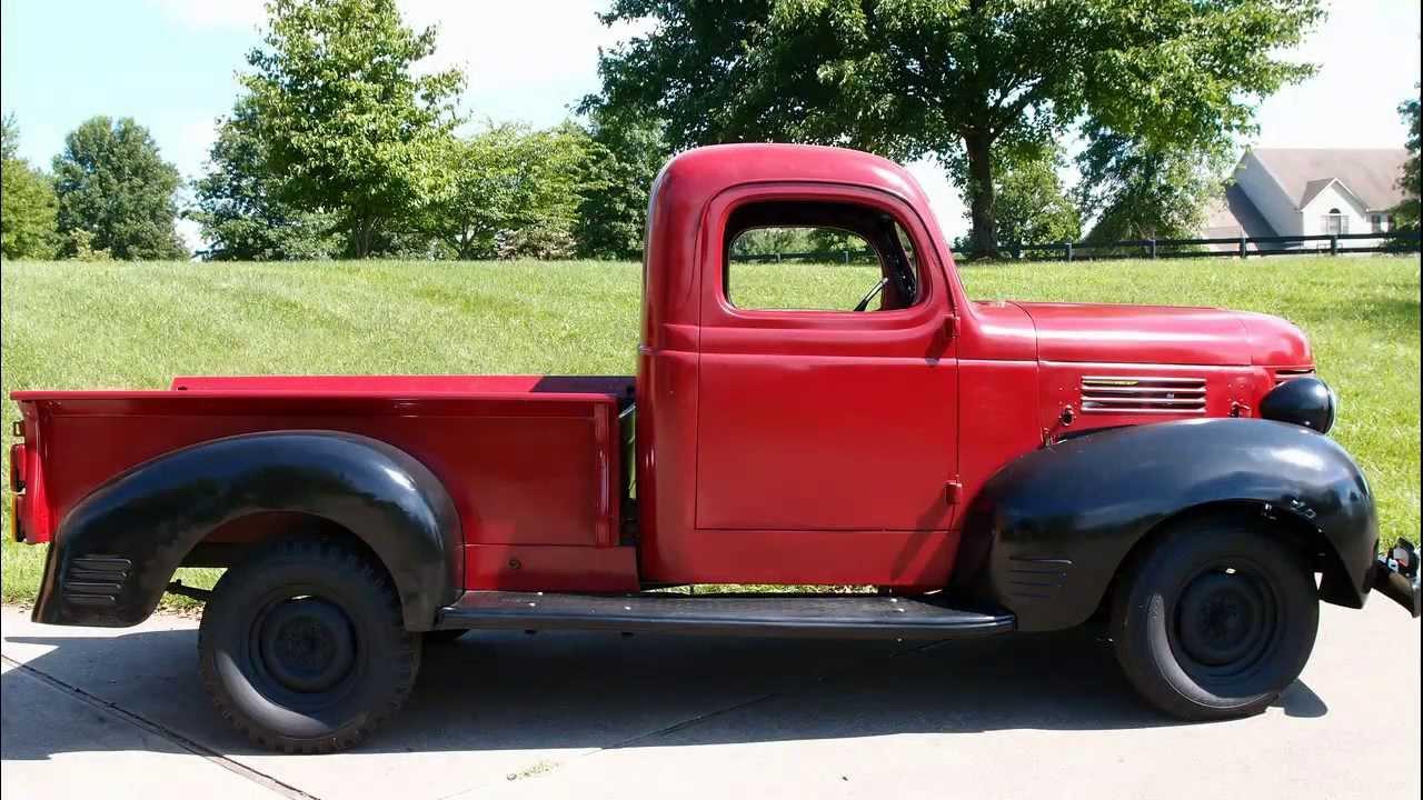 1939 Dodge Electric Truck Part 1