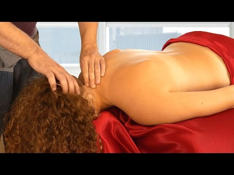 Relaxing Massage Therapy Techniques for Scalp, Neck & Back,