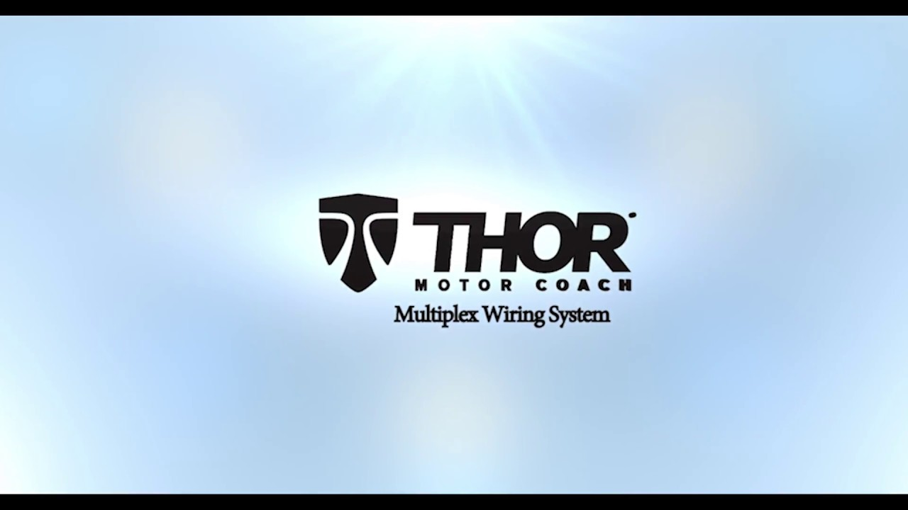 Thor Motor Coach How To Use The Multiplex Wiring System Youtube Rv Diagrams