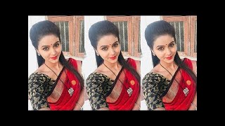yaradi nee mhogini serial actress in dubsmash   tik tok funny video whatsapp status, tik tok