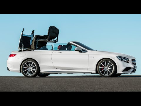 Mercedes S Cl Cabriolet Roof Demo 35 Mph Open Close Carjam Tv Hd 2016 You