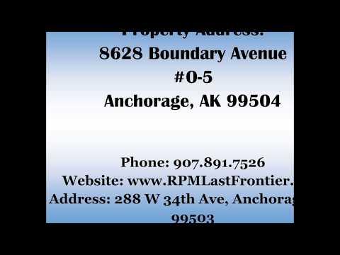 8628 Boundary Ave #O-5 Anchorage, AK 99504