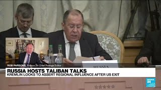 Russia recognises Taliban 'efforts' to stabilise Afghanistan • FRANCE 24 English