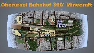Oberursel Bahnhof 360° Rundgang in Minecraft