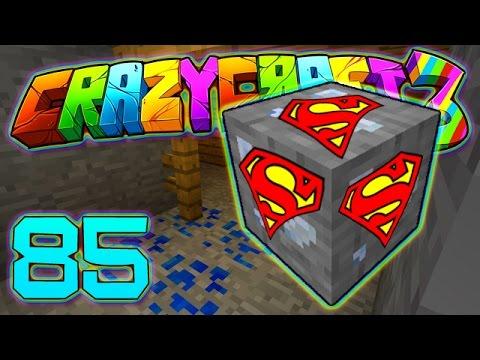 Minecraft Crazy Craft 3.0: SUPER HERO MOD ORE MINING #85 (Moded Roleplay)