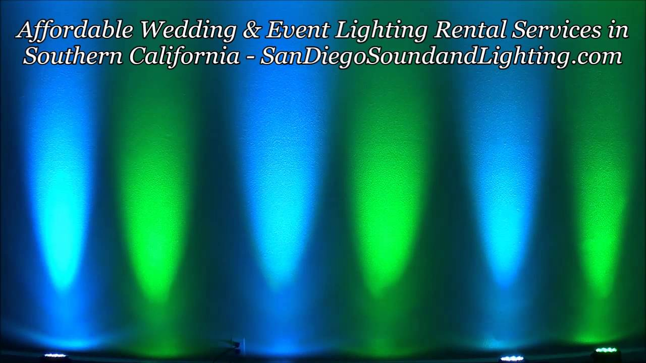 Event Lighting Rental Beverly Hills Tiffany Blue Amp Green