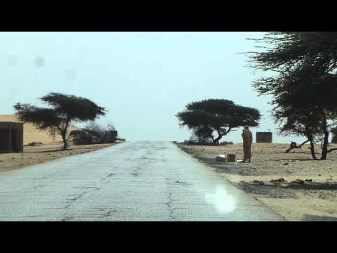 Enroute to Rosso (Mauritania-Senegal border)