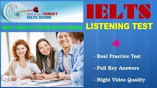 IELTS Listening Practice Tests with Answers and PDF File - Test 04