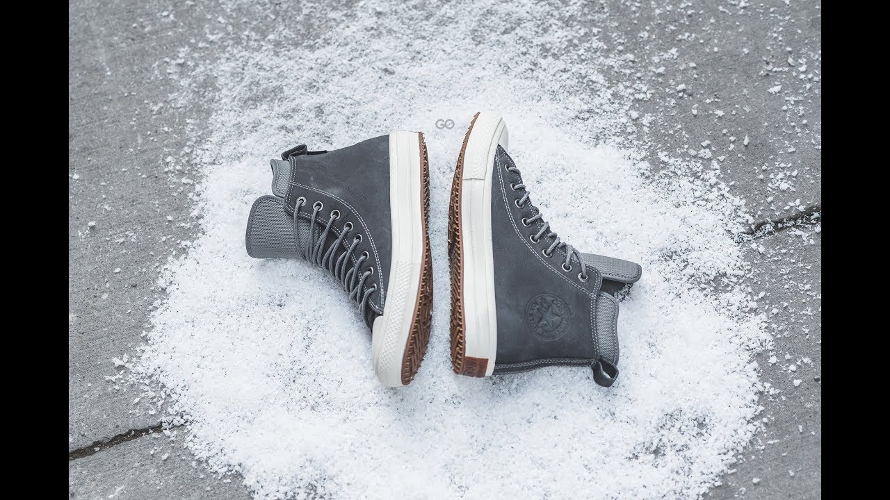 converse chuck taylor all star waterproof nubuck
