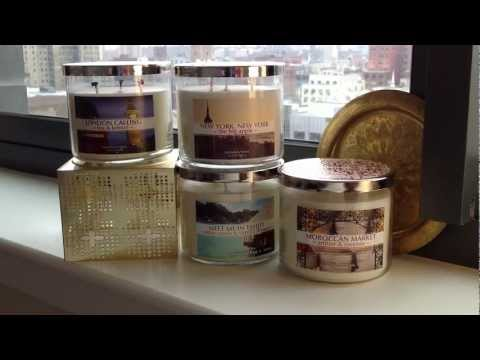 Bath & Body Works 'Around The Globe' Candle Collection Review