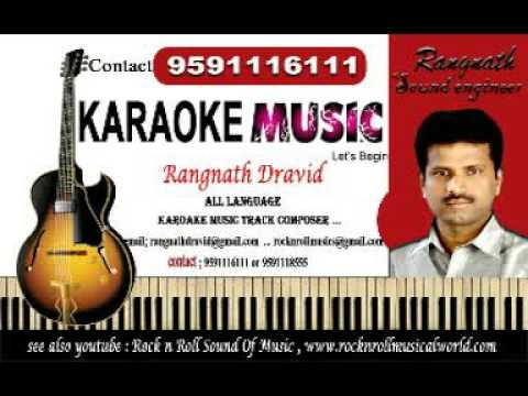 ''Rathavara'' Karaoke ''Hudugi Kannu'' free