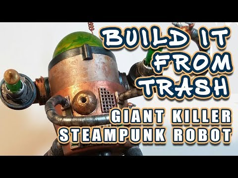 Build a Steampunk Robot! | Tabletop Crafters Guild Build | Mother of All Volkites