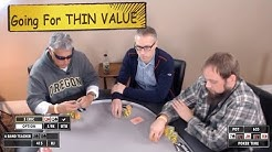Poker Time Cash Game: All In with Queens for Thin Value on a King High Board