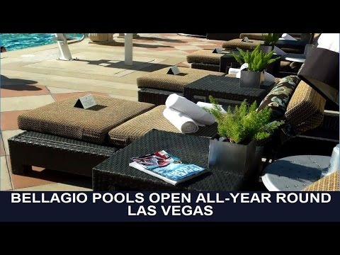 Bellagio Pools (Las Vegas): the areas which are always open (from top-buffet.com)
