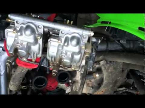 Kawasaki KFX700 Carburetor Cleaning YouTube – Kawasaki Prairie 700 Engine Diagram