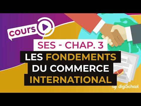 Chapitre 3 : Les fondements du commerce international ? - Une analyse du commerce mondial