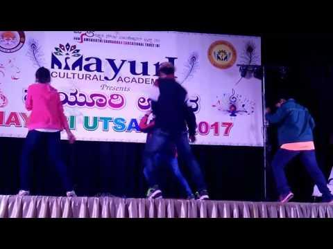 Michael Jackson Dangerous remix with Hudugaru Neeralli Sanna performance