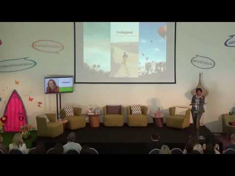 Melissa Biggs Bradley founder of Indagare speaking at the Martinhal event
