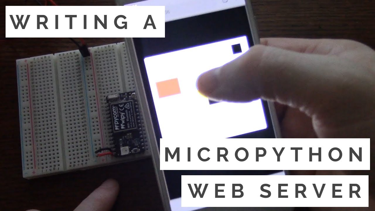 DIY Smart Light with MicroPython and WiPy 3 0