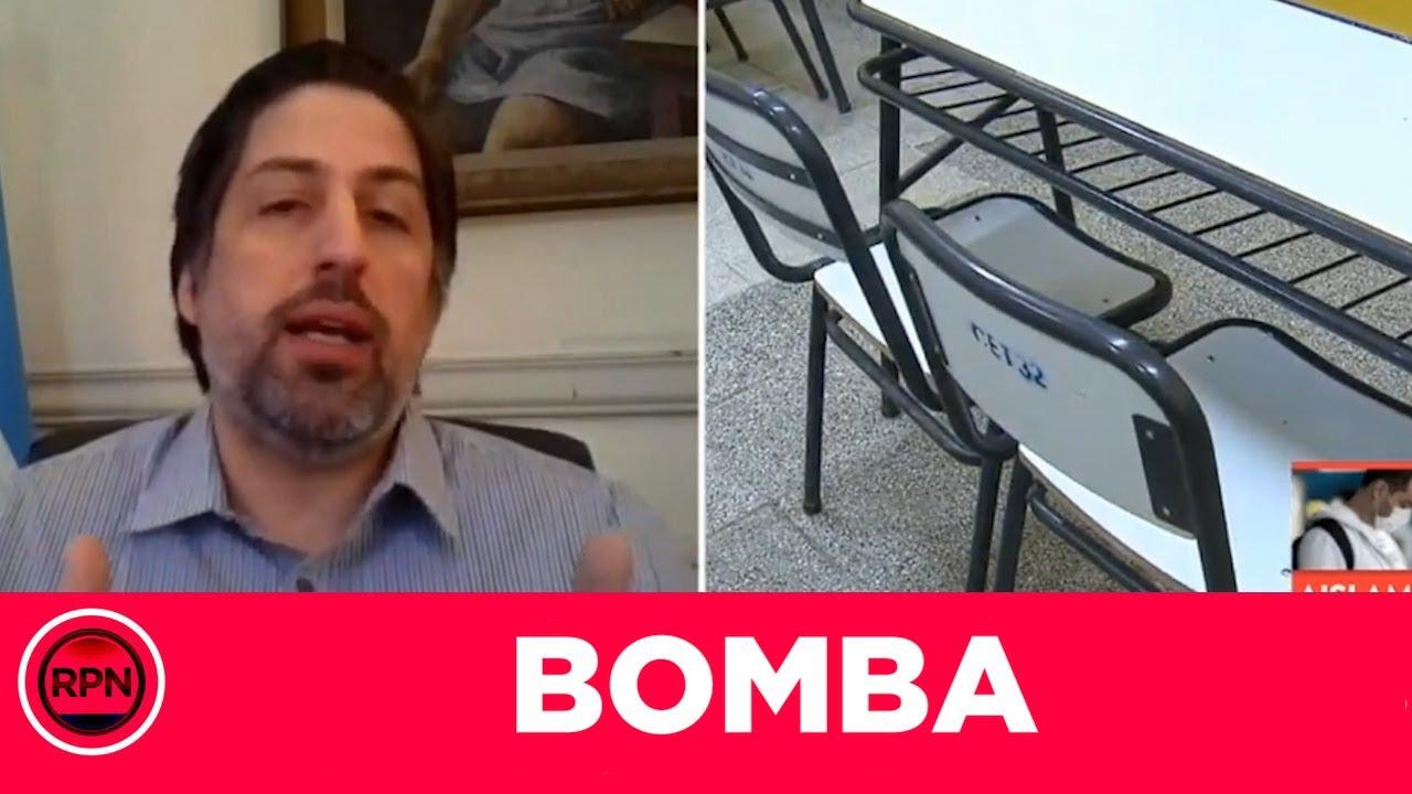 BOMBA: Trotta ya presentó el nuevo protocolo para empezar las clases y lo contó con lujo de detalles