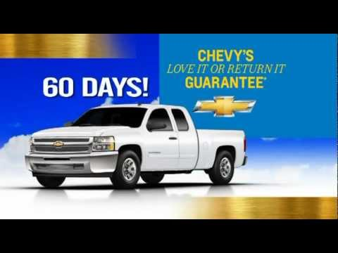 Chevrolet Love it or Return it Guarantee
