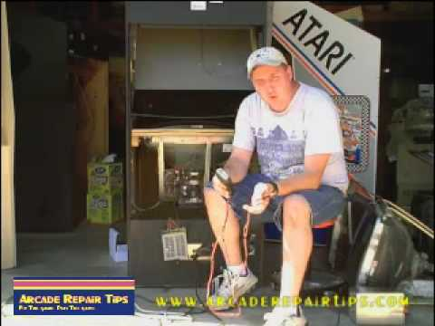 Arcade Repair Tips - Checking And Replacing A Power Supply