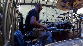 GNIDA - Lucass Drumcam @Festiwal Mocnych Brzmien 2015 - Full Show!
