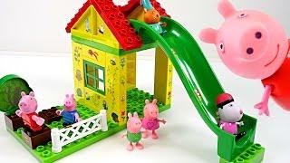 Mejores Videos para Niños Aprendiendo Colores - Peppa Pig Tree House Learning Colors