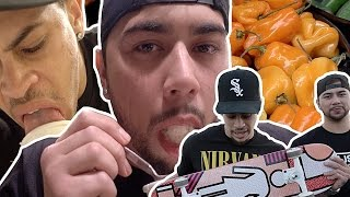Skate Challenge! - (LOSER EATS EXTREMELY SPICY HABANEROS!)
